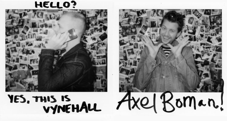 Leon Vynehall and Axel Boman